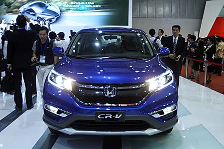 Honda CR-V giảm giá kịch sàn
