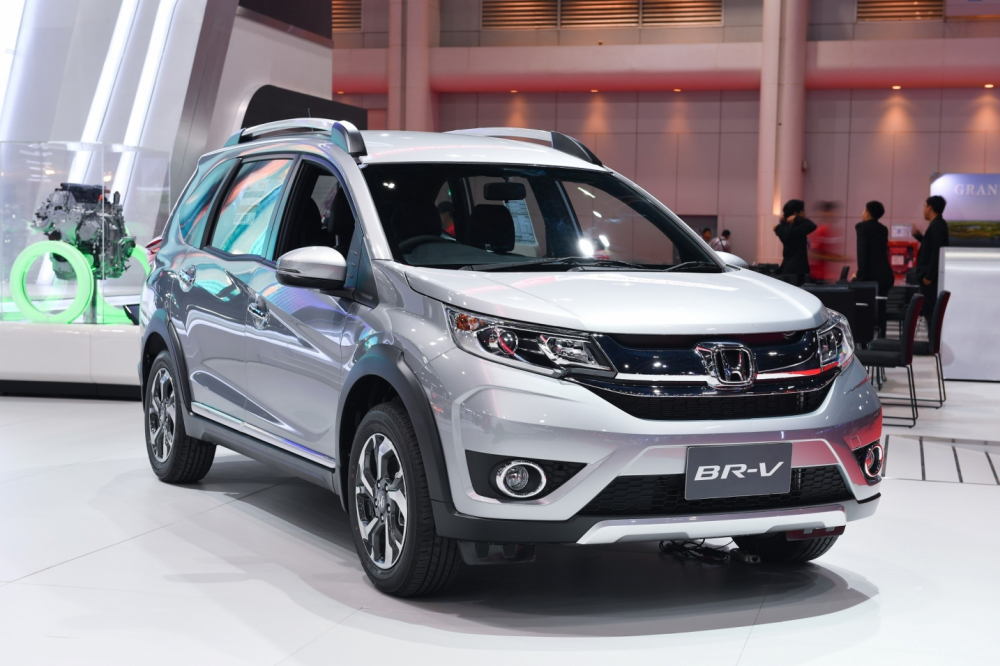 Honda BR-V sắp cập bến thị trường Việt Nam