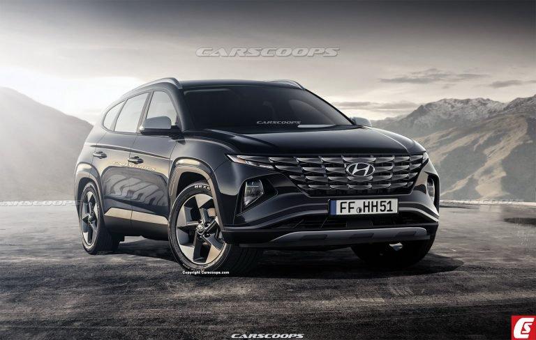 Rò rỉ về Hyundai Tucson 2021