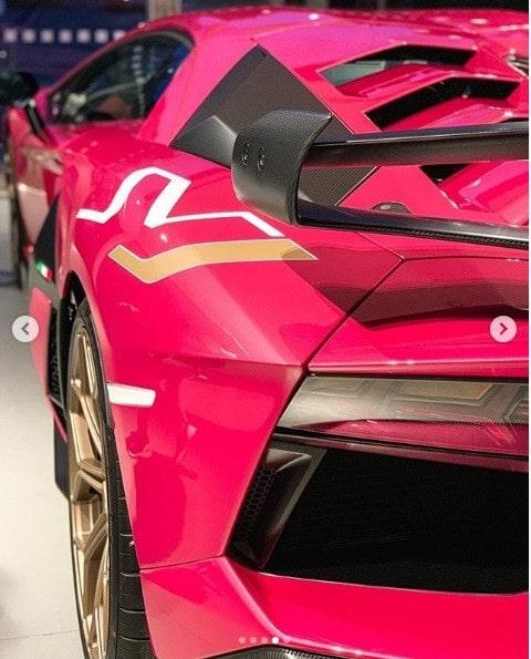Thú chơi xe - Chiêm ngưỡng Lamborghini Aventador SVJ màu hồng siêu biến hóa (Hình 4).