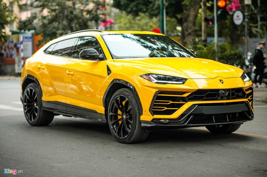 Chi tiết Lamborghini Urus thứ 7 về Việt Nam