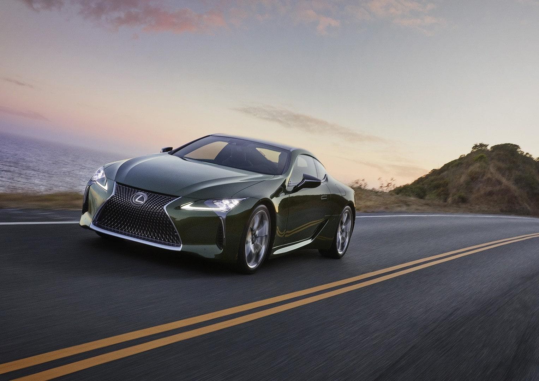 Lexus ra mắt LC 500 2020 phiên bản giới hạn màu xanh lá cây cực độc