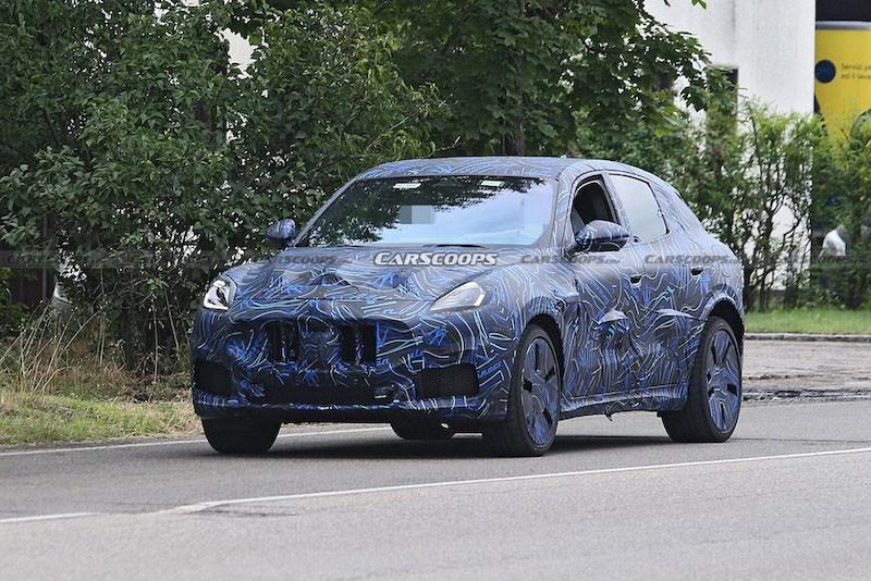 SUV bé nhất nhà Maserati Grecale sẽ ra mắt vào tháng 11 này để cạnh tranh Porsche Macan