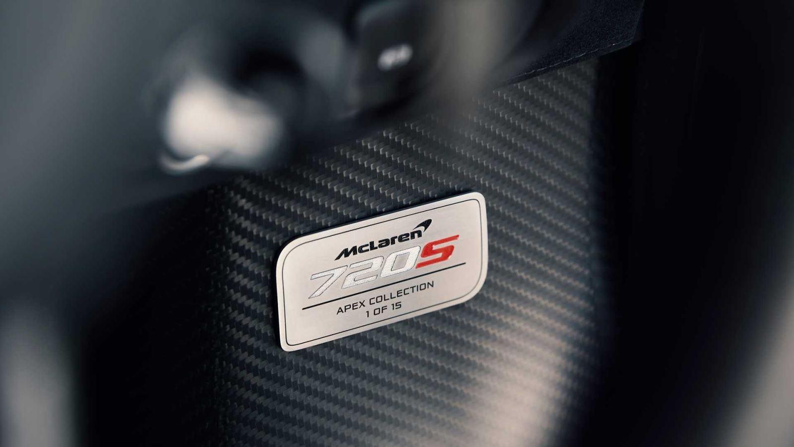 McLaren tung 15 chiếc 720S phiên bản đặc biệt kỷ niệm các đường đua F1