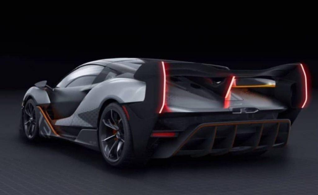 Mẫu xe concept Ultimate Vision Gran Turismo mà McLaren đã công bố vào năm 2017