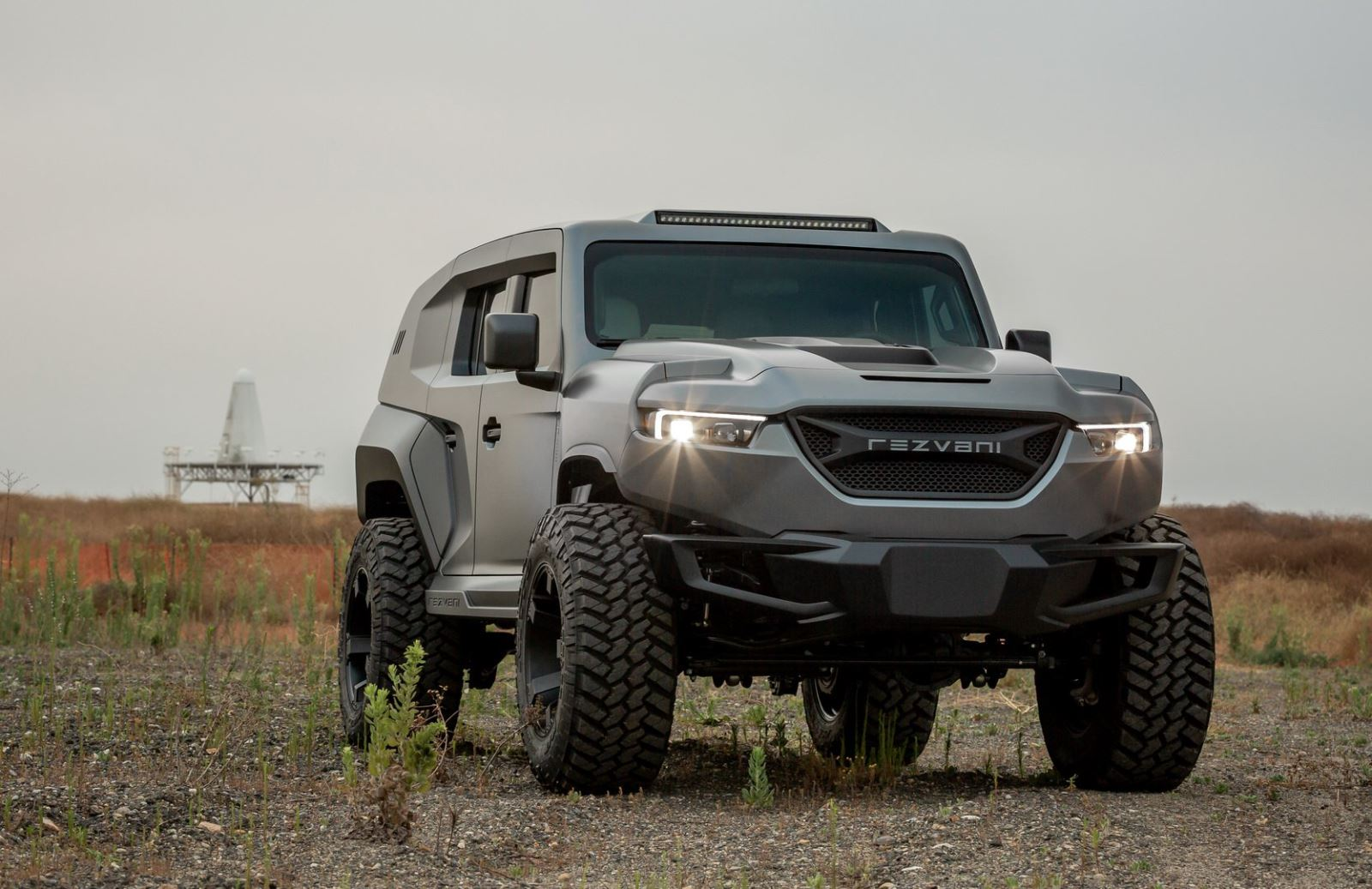 Có gì ở Rezvani Tank 2020: Chiếc SUV mạnh mẽ nhất thế giới?