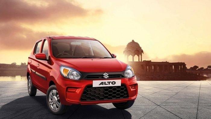 Suzuki Alto 2019 động cơ xăng ra mắt vào tháng 4/2019.