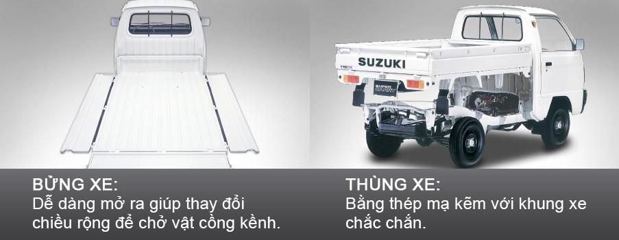 Suzuki Super Carry Thùng lửng