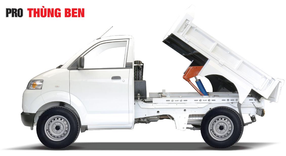 Xe Suzuki thùng ben