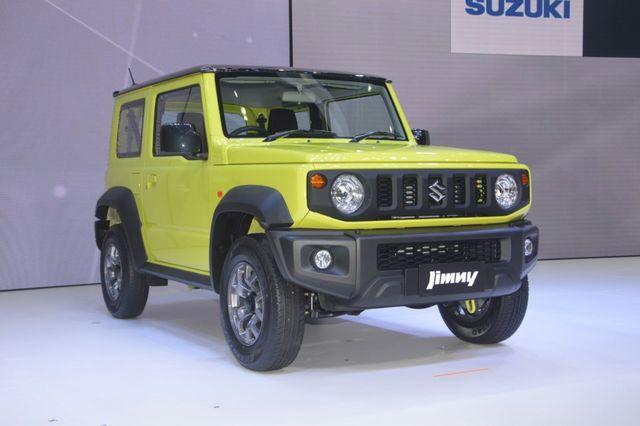 Suzuki Jimny ra mắt tại Thái Lan