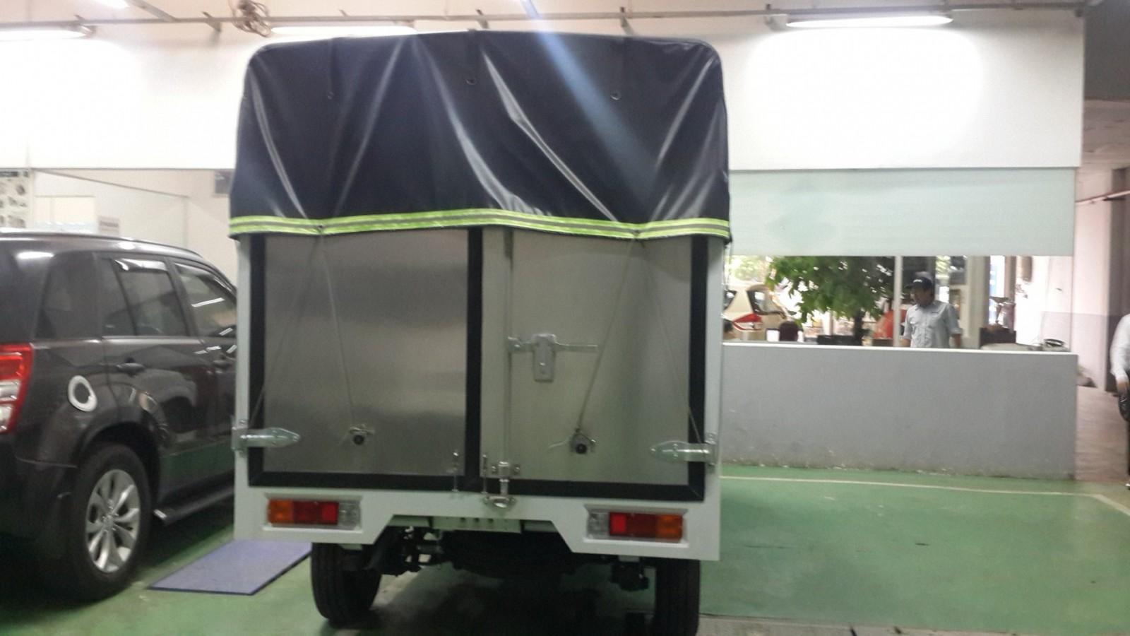 Xe tải Super Carry Pro thùng mui bạt