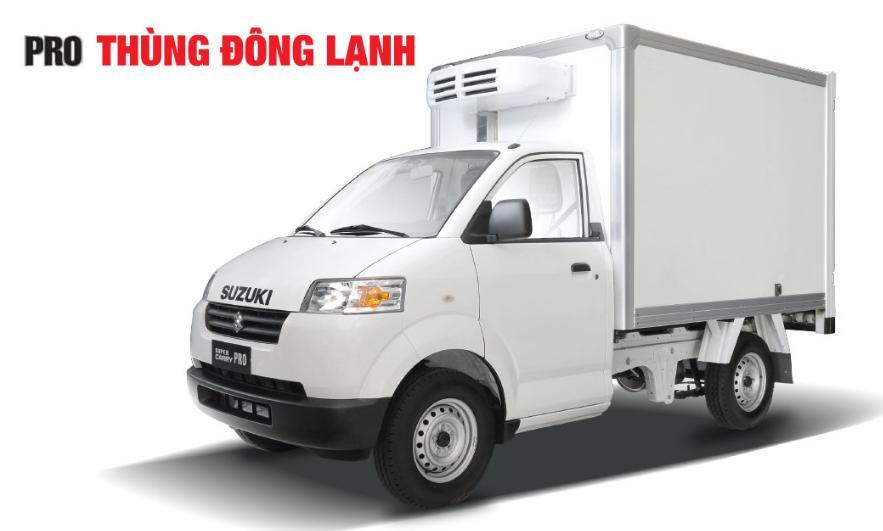 Xe tải Super Carry Pro thùng đông lạnh