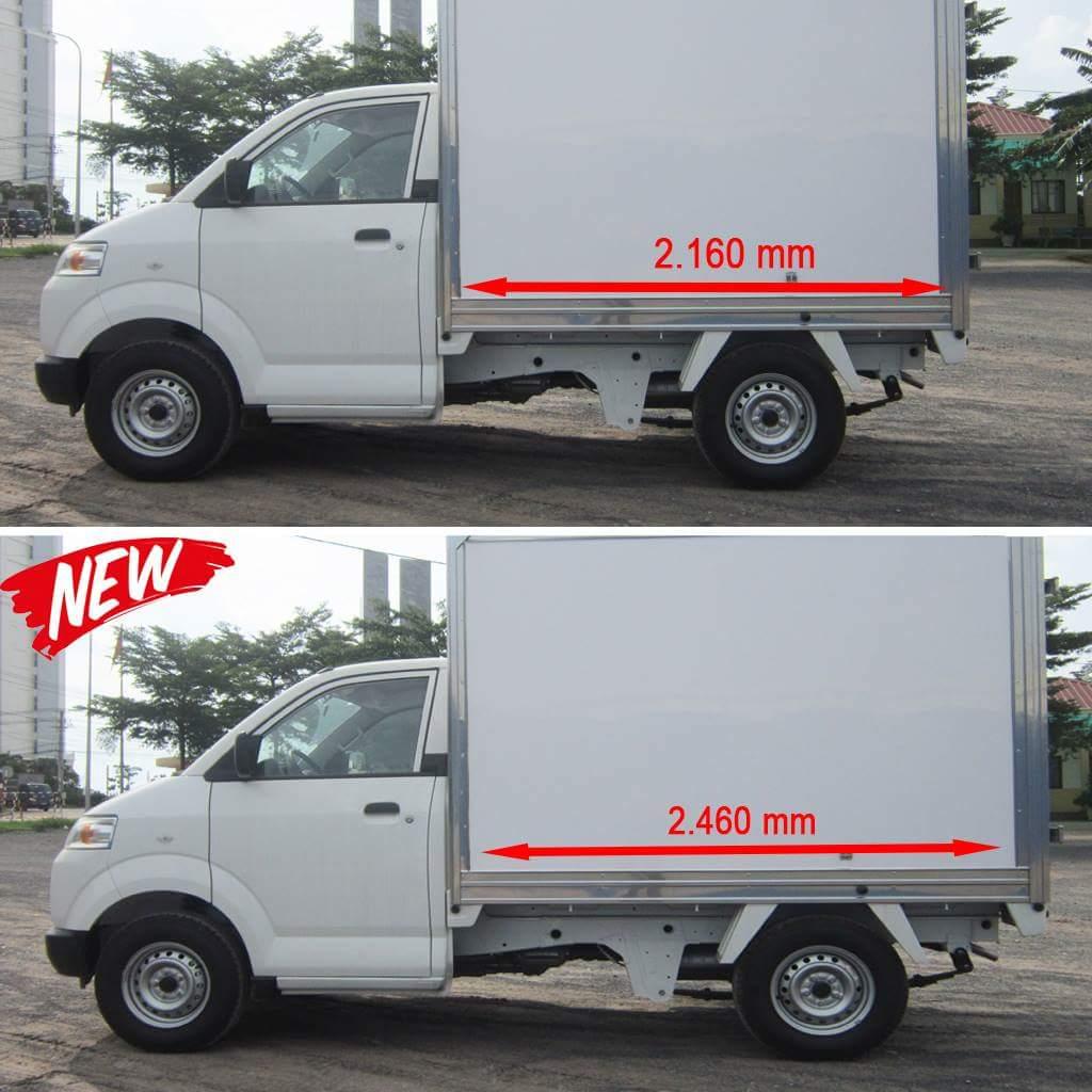 Xe tải Super Carry Pro thùng kín