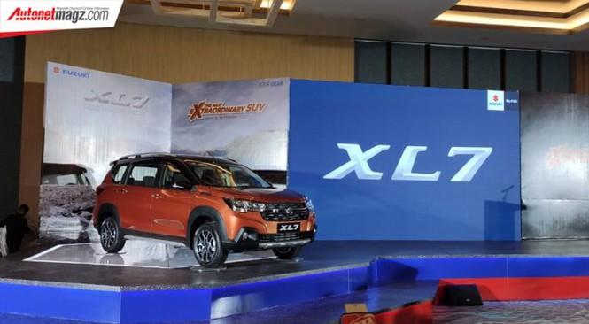 Suzuki XL7 chính thức được giới thiệu tại thị trường Indonesia