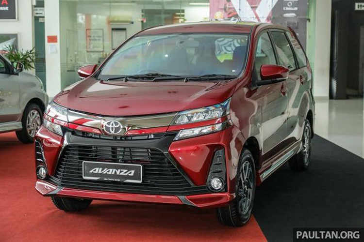 Toyota Avanza chuẩn bị đổ bộ về Việt Nam