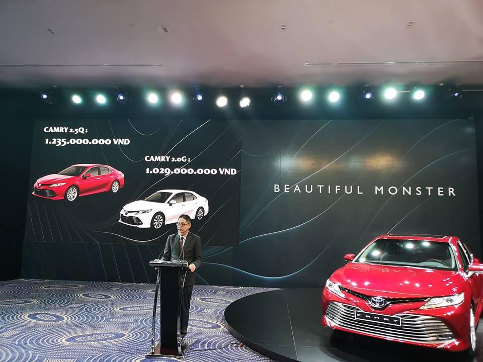 Toyota Camry 2019 nhập Thái, giá mềm hơn phiên bản lắp ráp