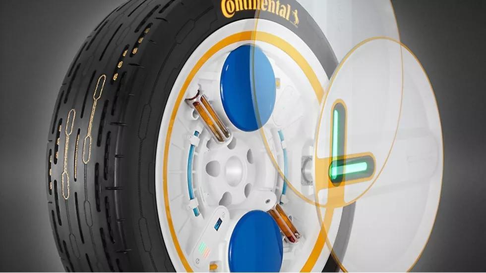 Phát minh ra loại lốp có khả năng tự bơm hơi