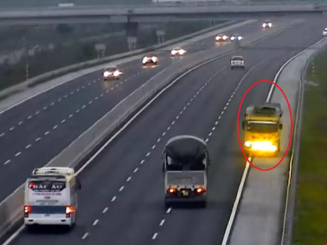Các lỗi vi phạm trên đường cao tốc bị phạt tiền