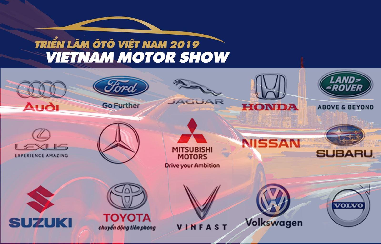 15 thương hiệu ô tô hàng đầu sẽ mang gì đến triển lãm ô tô Việt Nam 2019