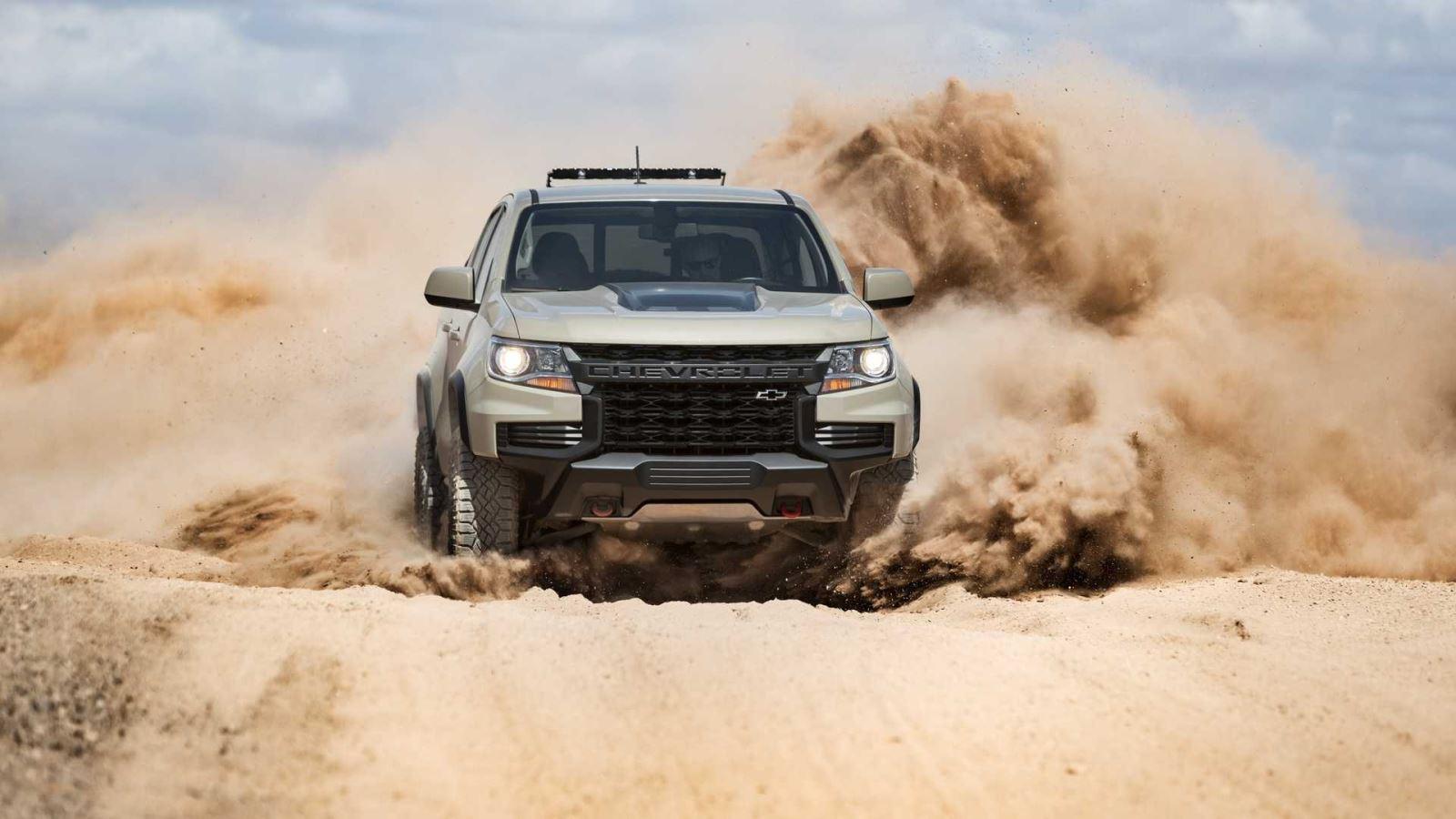 Chevrolet Colorado 2021 chính thức lộ diện: Dũng mãnh và khác biệt