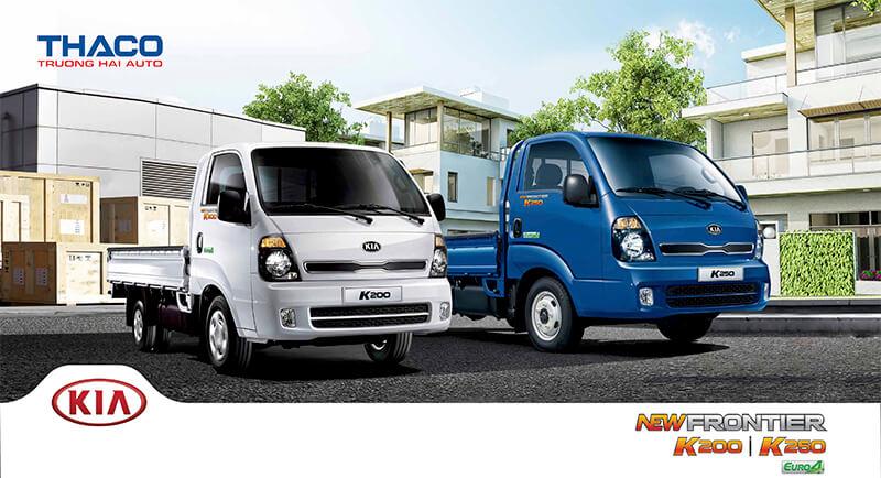 giá xe tải kia thaco k250