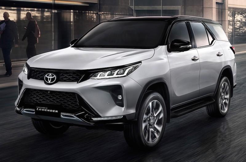 Toyota Fortuner 2021 phiên bản Legender tại Thái Lan bổ sung loạt trang bị mới