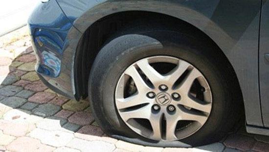 Nguyên nhân nổ lốp