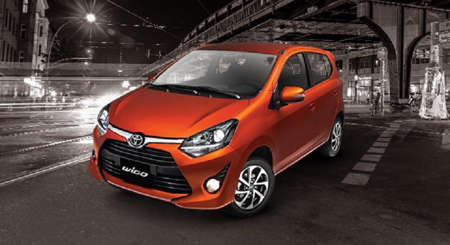 Toyota Wigo có giá khởi điểm 345 triệu đồng