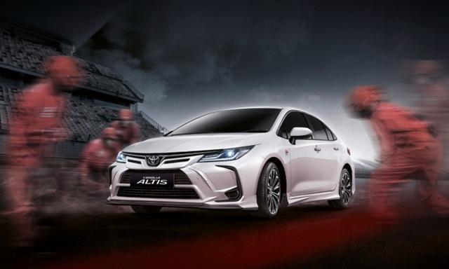 Toyota Altis bản đường đua