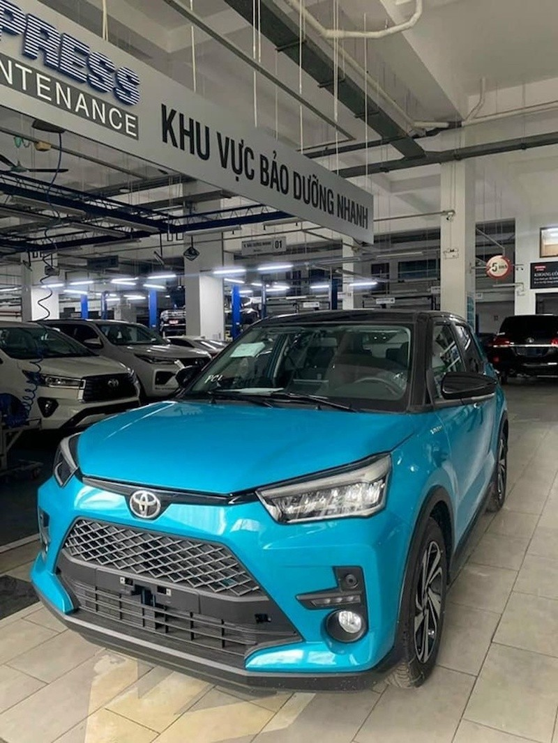 Toyota Raize tại Việt Nam