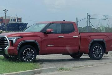 Lộ ảnh bán tải Toyota Tundra thế hệ mới