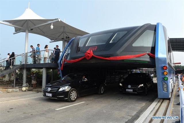 xe buýt chân dài