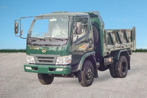 Xe tải ben Hoa Mai 3 tấn Euro 4