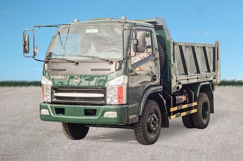 Xe tải ben Hoa Mai 4.65 tấn 2 cầu Euro 4