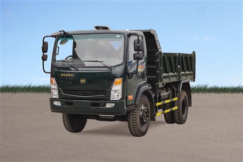 Xe tải ben Hoa Mai 6.45 tấn 2 cầu cabin mới Euro 4