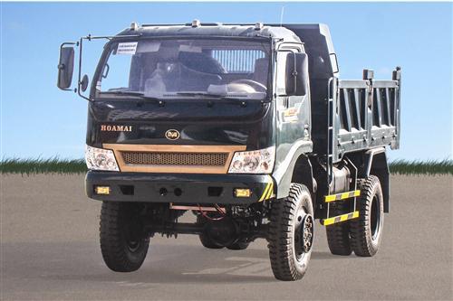 Xe tải ben Hoa Mai 6.45 tấn Euro 4