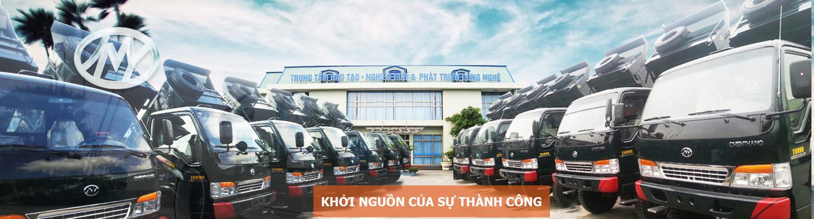 xe ô tô tải Chiến thắng