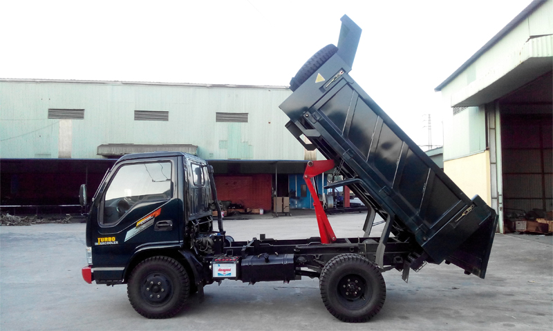 Xe tải ben Chiến Thắng 3.95 tấn 1 cầu