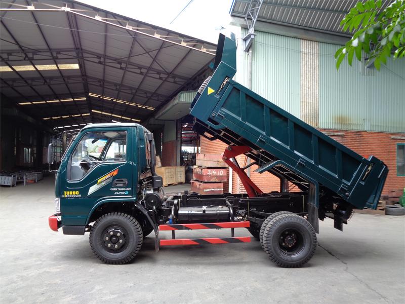 Xe tải ben Chiến Thắng 4.6 tấn
