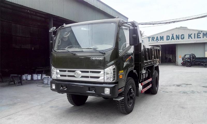 Xe tải ben Chiến Thắng 5.5 tấn 2 cầu