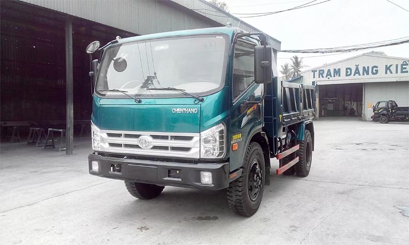Xe tải ben Chiến Thắng 5.5 tấn 1 cầu