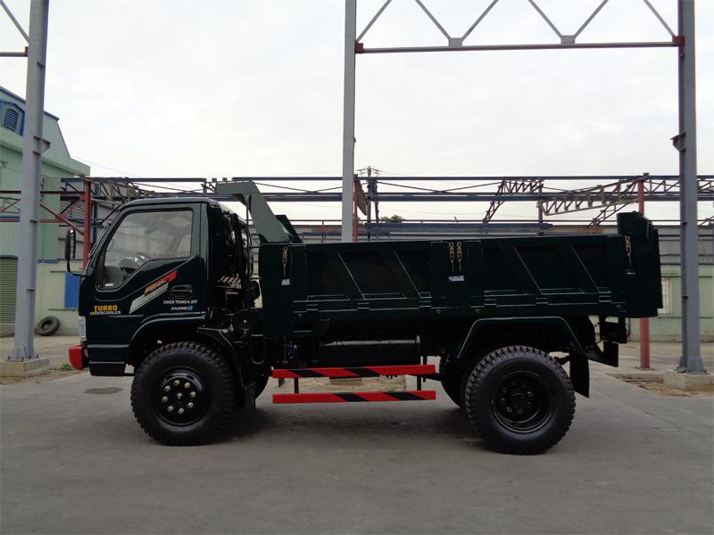 Xe tải ben Chiến Thắng 6.2 tấn 1 cầu