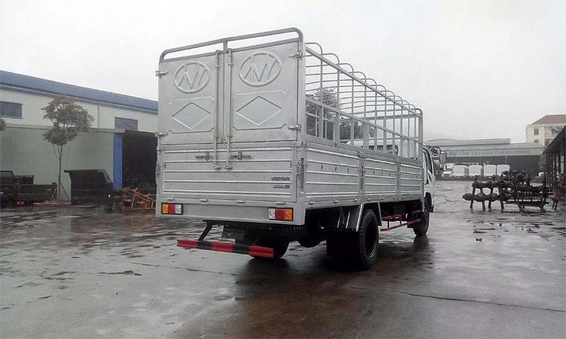 Xe tải thùng khung mui Chiến thắng 6.7 tấn