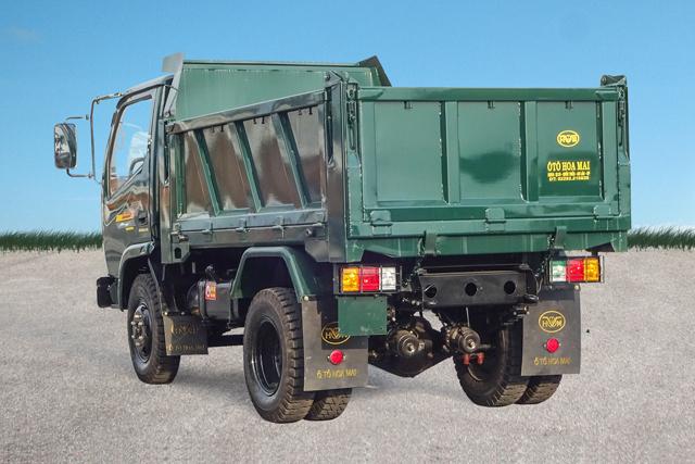 Xe tải ben Hoa Mai 4 tấn 1 cầu Euro 4
