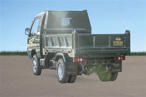Xe tải ben Hoa Mai 1.25 tấn Euro 4