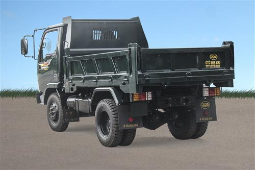 Xe tải ben Hoa Mai 2.35 tấn Euro 4