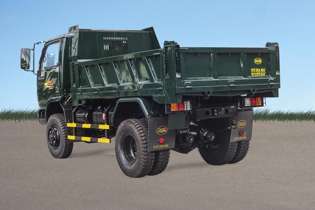 Xe tải ben Hoa Mai 3.45 tấn 2 cầu Euro 4