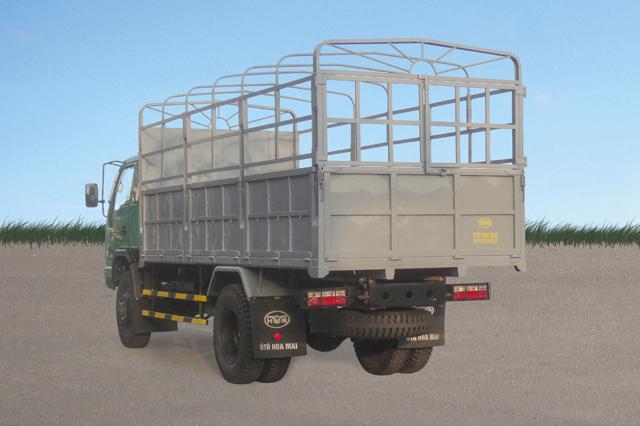 Xe tải Hoa Mai 5.25 tấn 2 cầu thùng mui bạt