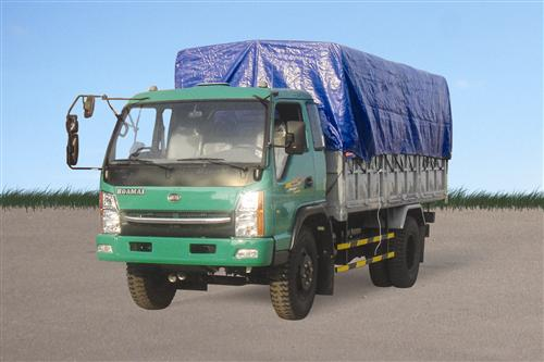 Xe tải Hoa Mai 5.5 tấn thùng mui bạt