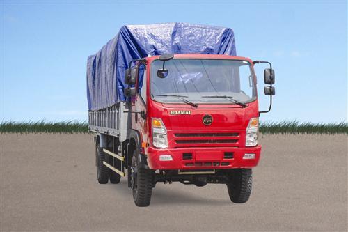 Xe tải Hoa Mai 7.6 tấn 2 cầu thùng mui bạt